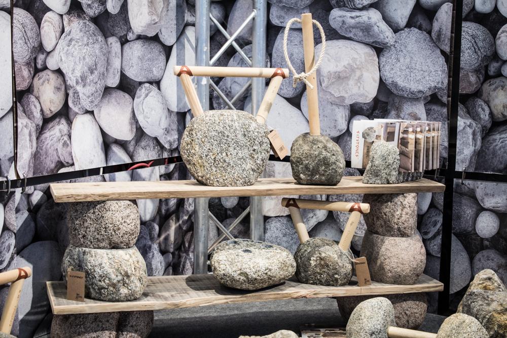 FITSTONES Leute!! Fitnessgeräte aus Steinen!