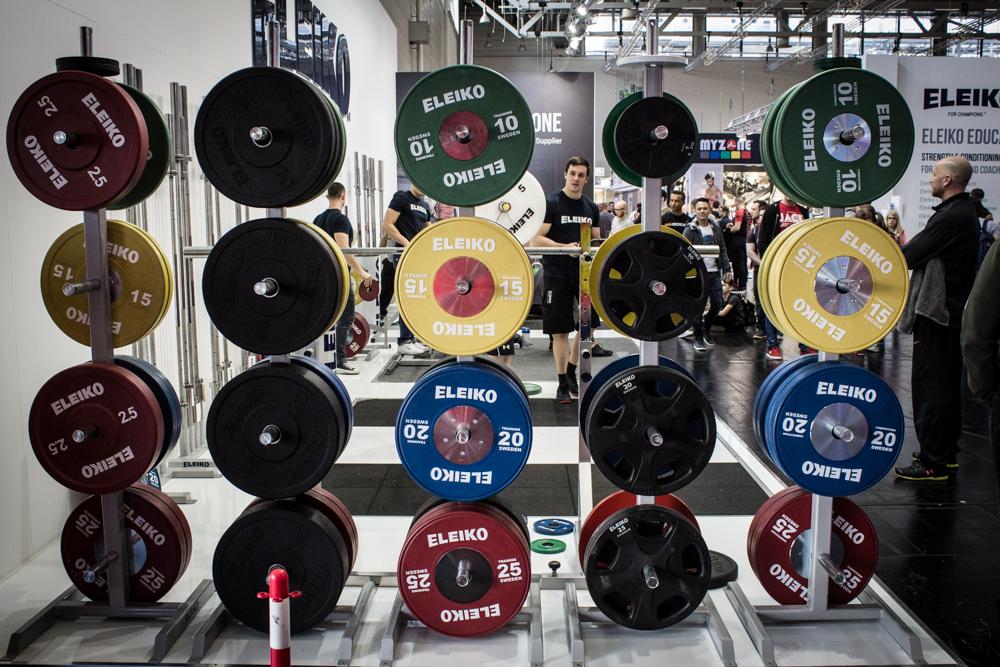 ELEIKO Powerlifting from Sweden - die neuen Bumper Plates 2016/2017