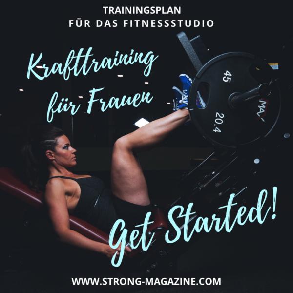 Krafttraininf für Frauen - Trainingsplan für Anfänger