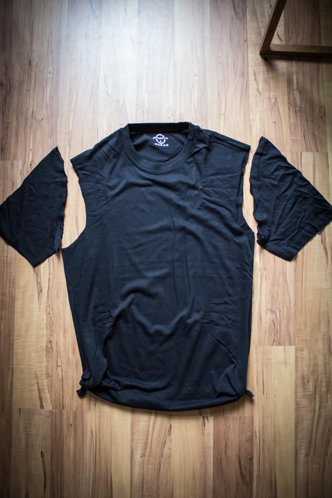 Männer-T-Shirts als Frau tragen