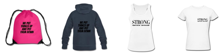 STRONG Merchandise