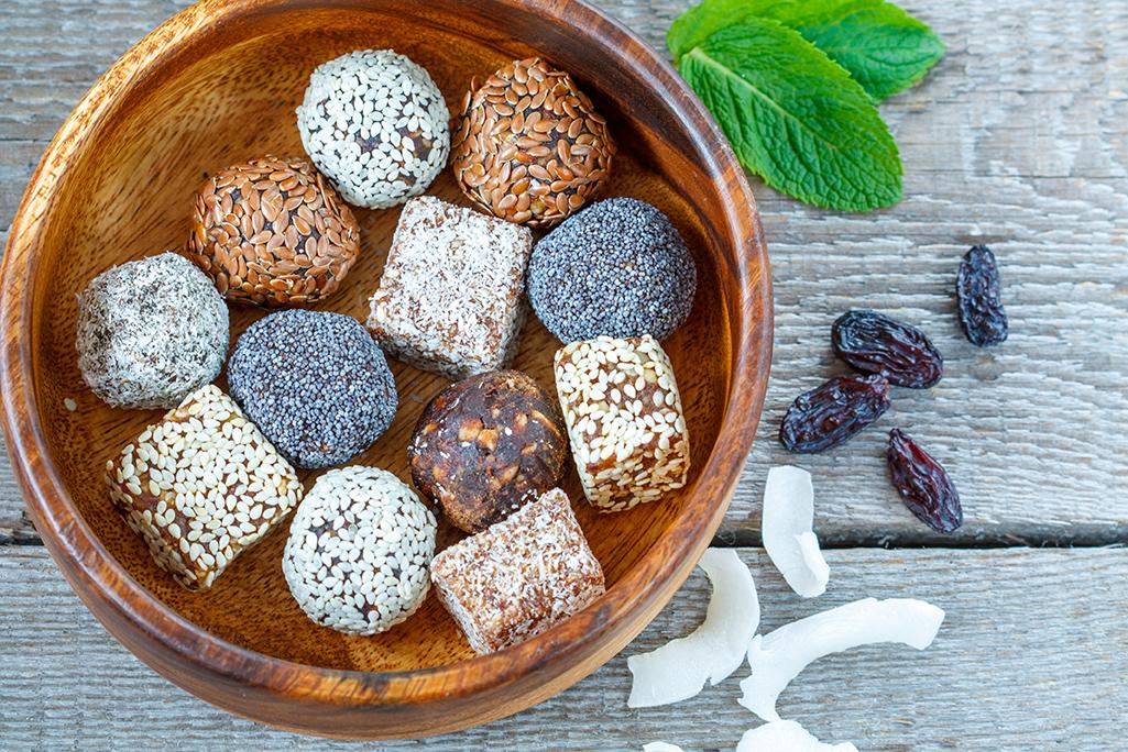 Minz-Schokoladen Protein Kugeln Rezept
