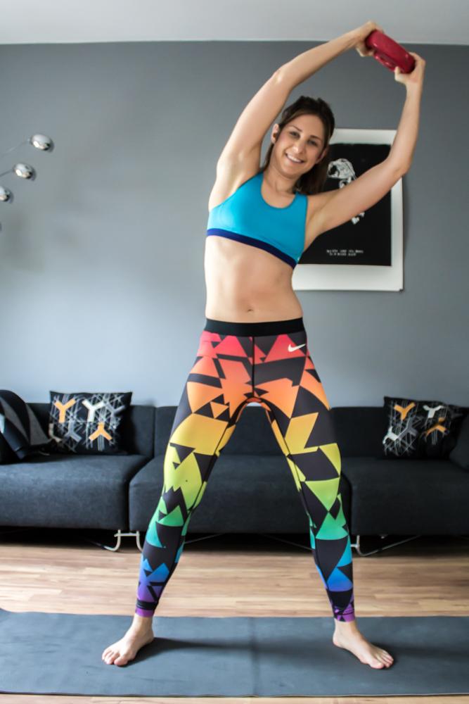 Scheibenwischer - Bauchübung für die seitliche Bauchmuskulatur