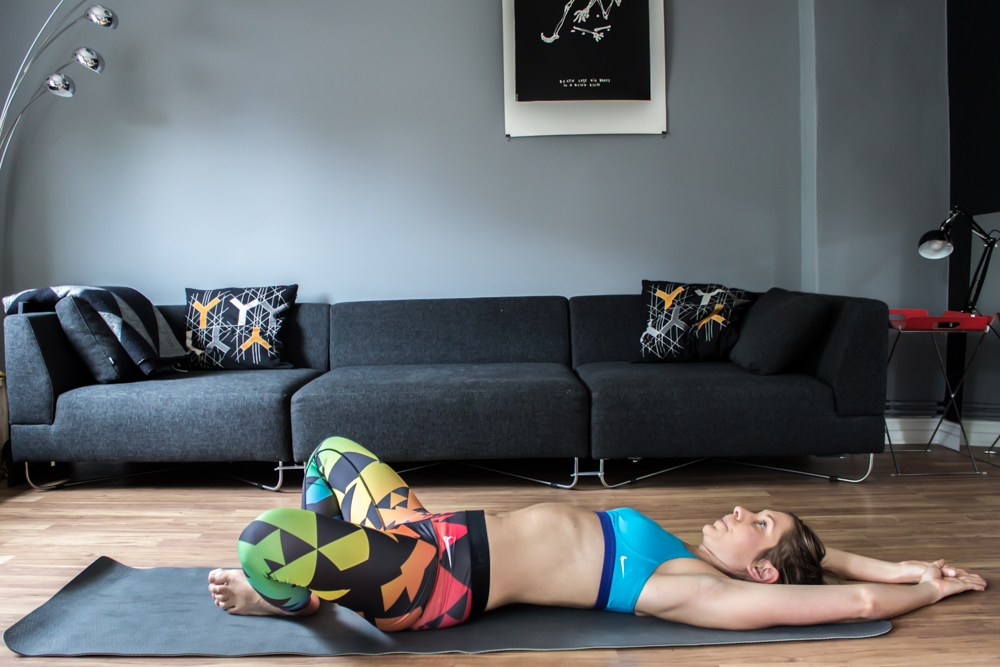 Feet Crunches - für die gerade Bauchmuskulatur