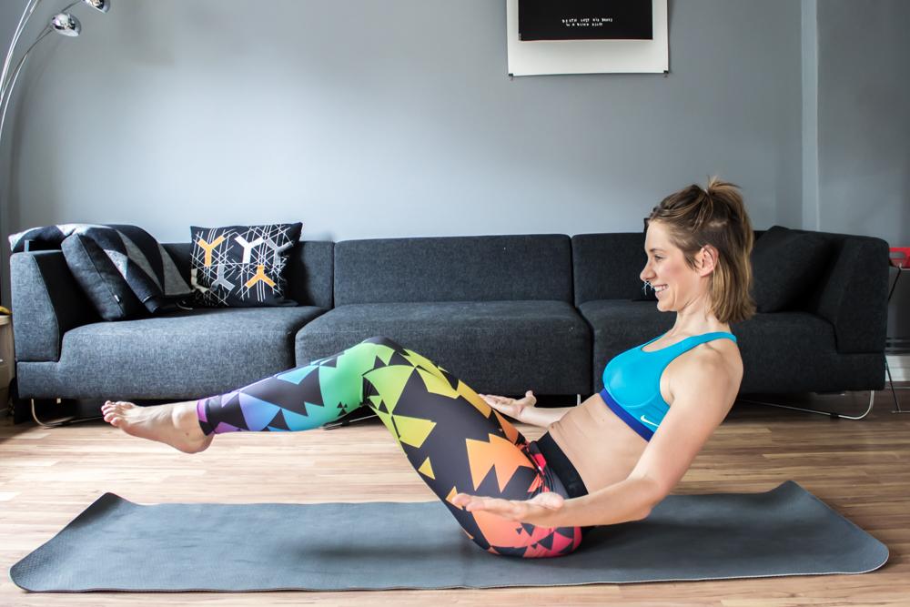Flying Feet - Bauchmuskeltraining für zu Hause