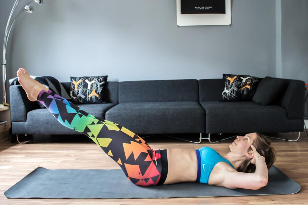 Fly Crunch - Bauchmuskeltraining zu hause