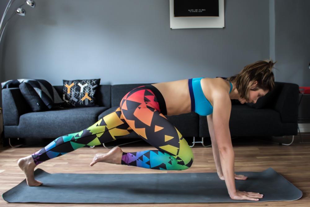 Mountain Climber, eine super Cardio Übung für den Bauch die das Fett zum schmelzen bringt