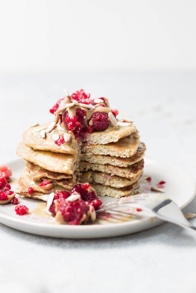 Peanut Butter Protein Pancakes Rezept - Photo by Alison Marras on Unsplash