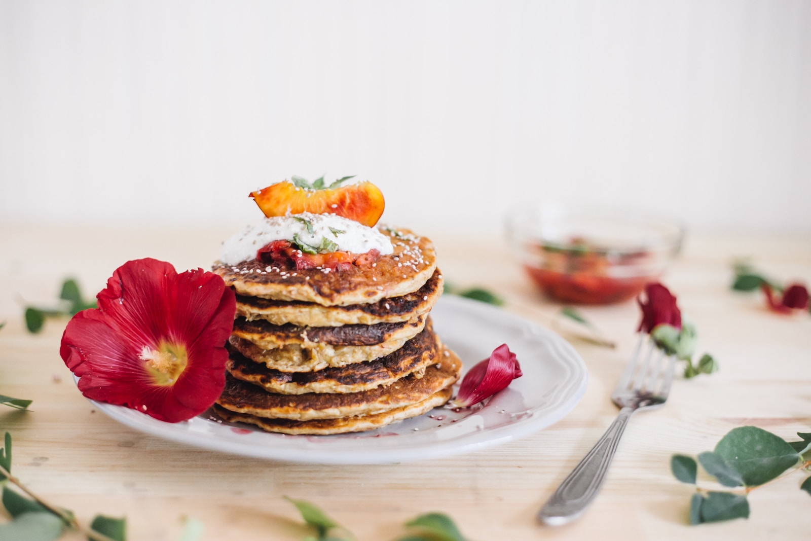 Protein Pancakes Grundrezept - Photo by Sen Po on Unsplash