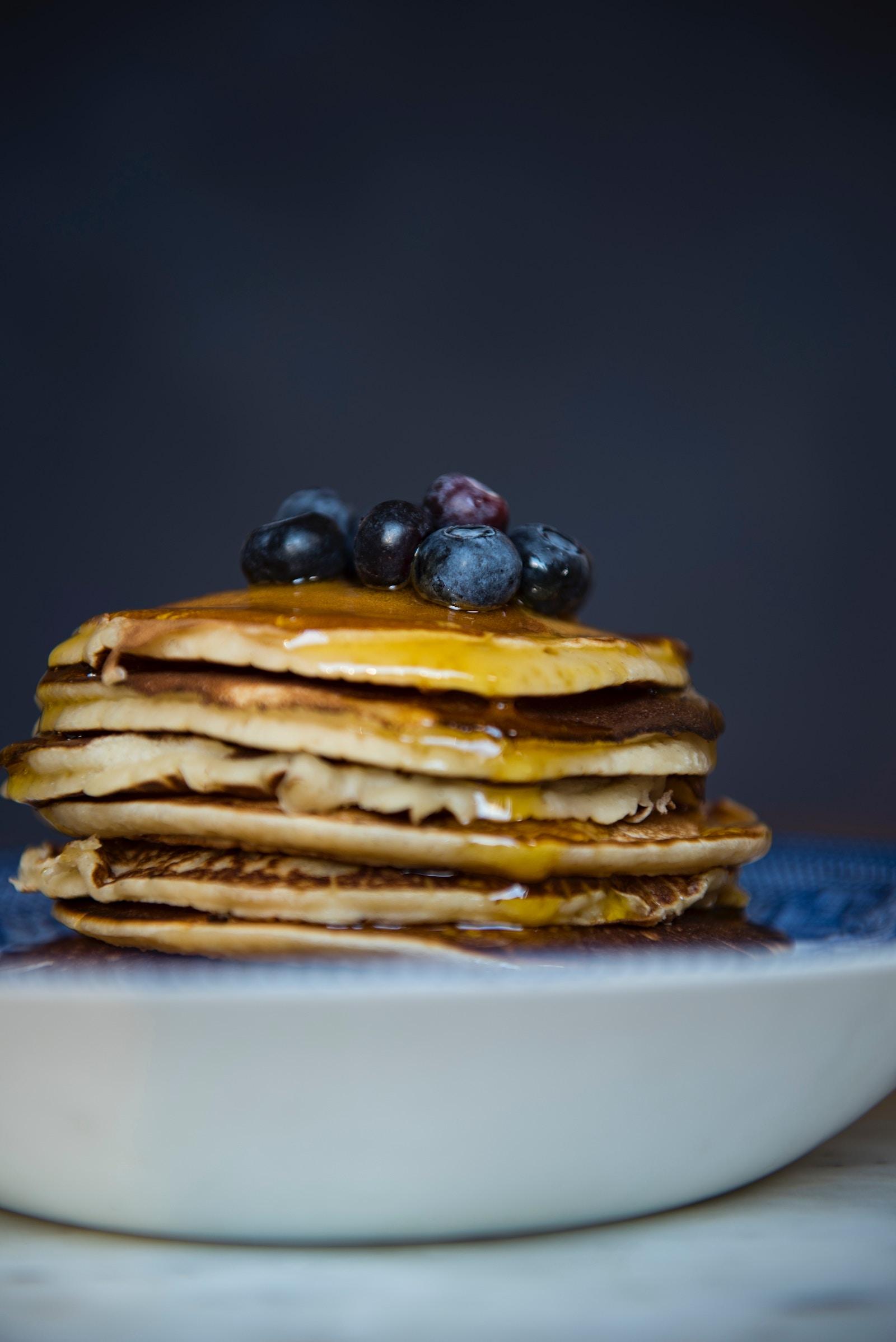 Protein Pancakes ohne Mehl Rezept