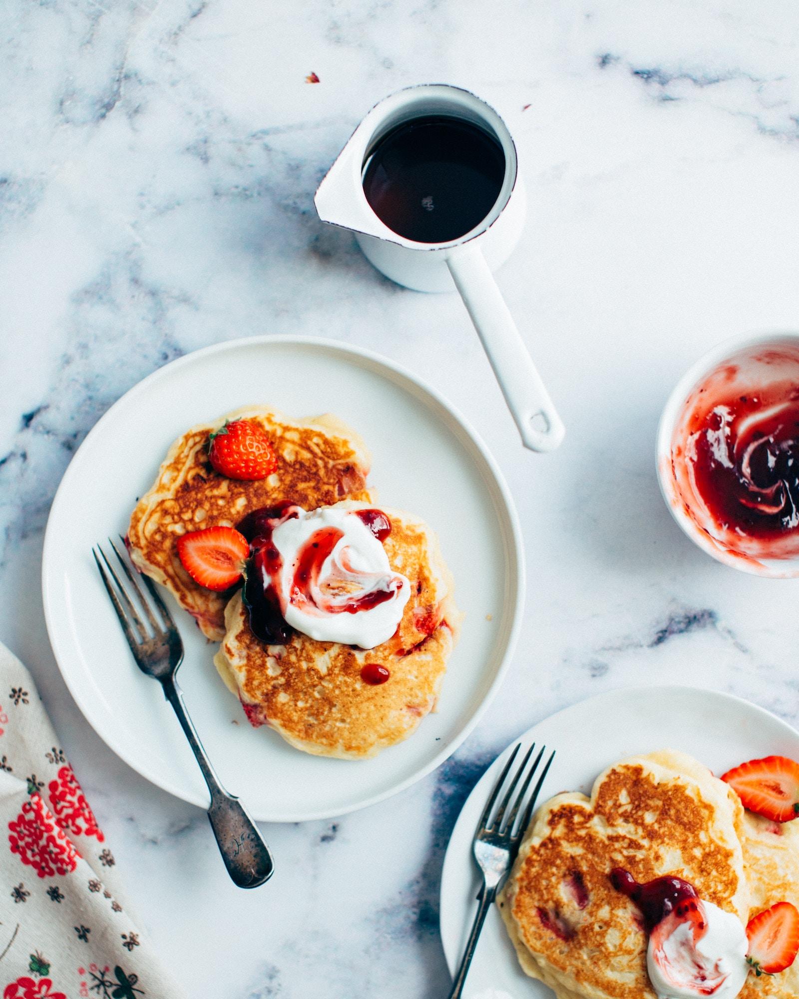 Protein Pancakes Rezept mit Buttermilch