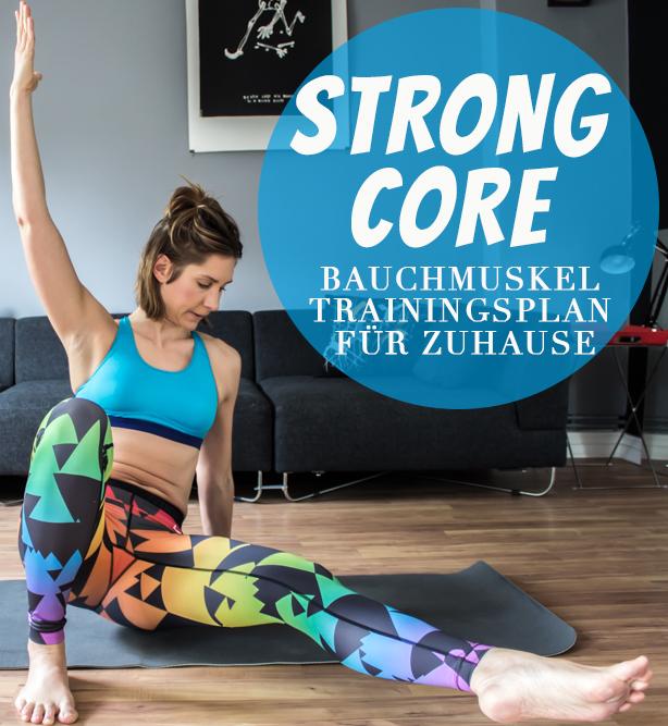 Bauchmuskel Trainingsplan zu Hause - Bauchmuskelübungen Frauen