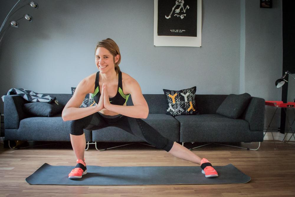 Der Wischer - Mobilitätstraining für Hüfte, Beine und Rücken