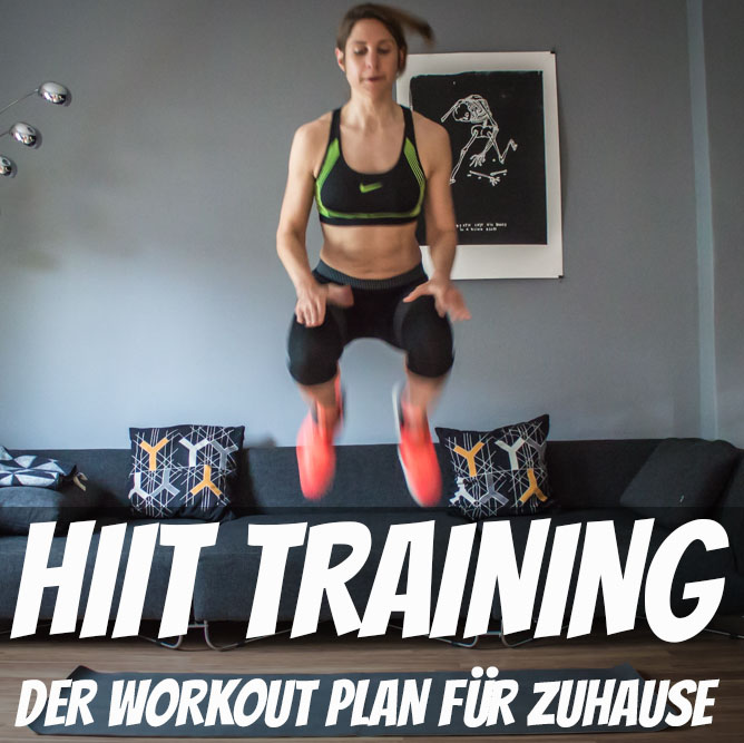 HIT Training - HIIT Workout Plan für Zuhause