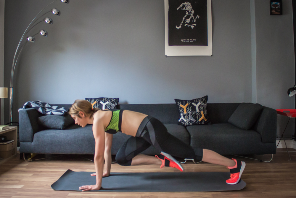 Mountainclimbers - HIT Training - der HIIT Workout Plan
