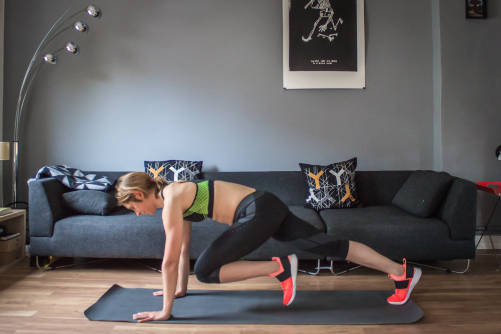 Mountainclimbers - HIIT Training - der HIIT Workout Plan