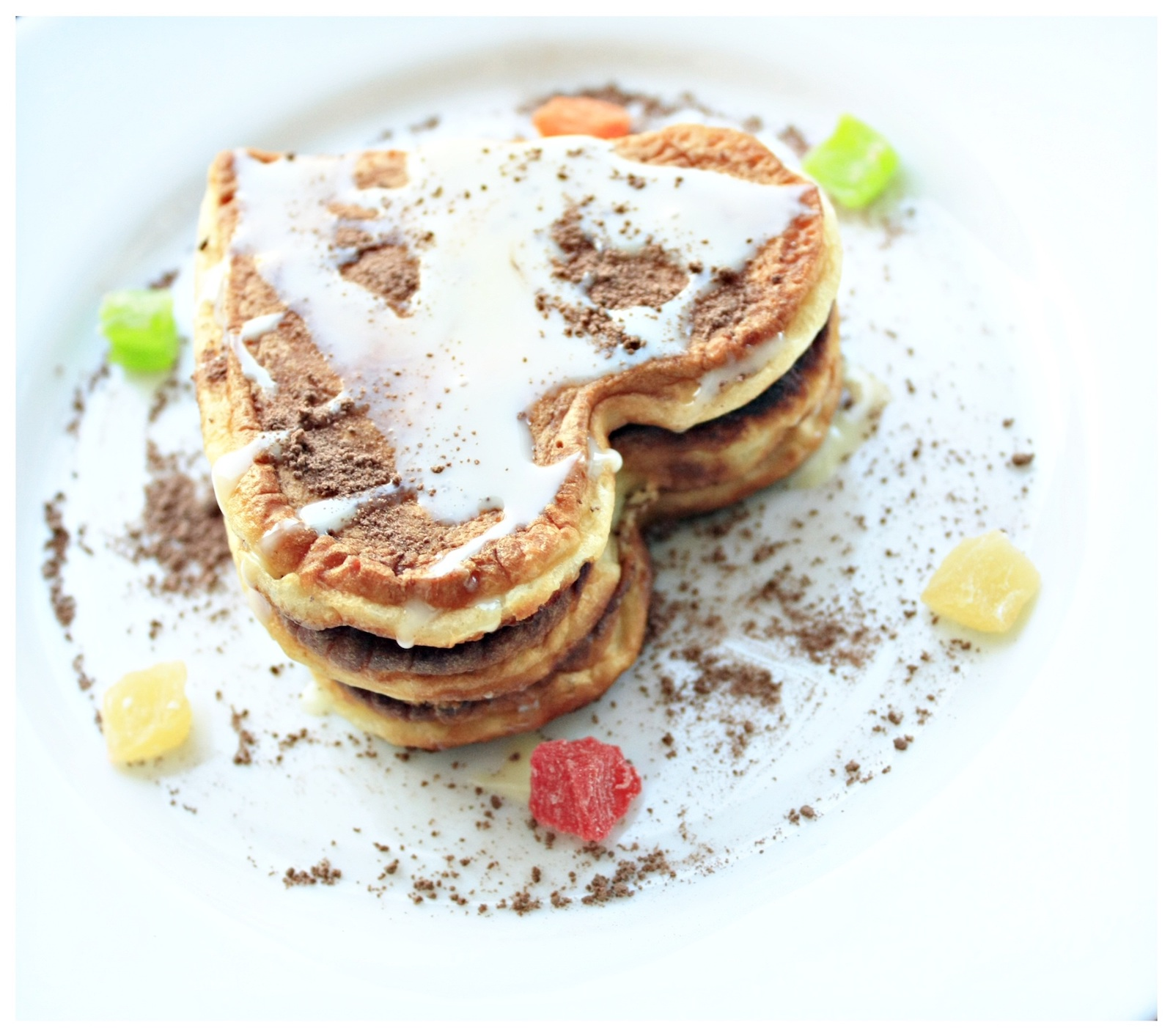 Rezept für vegane Protein Pancakes mit Zimt