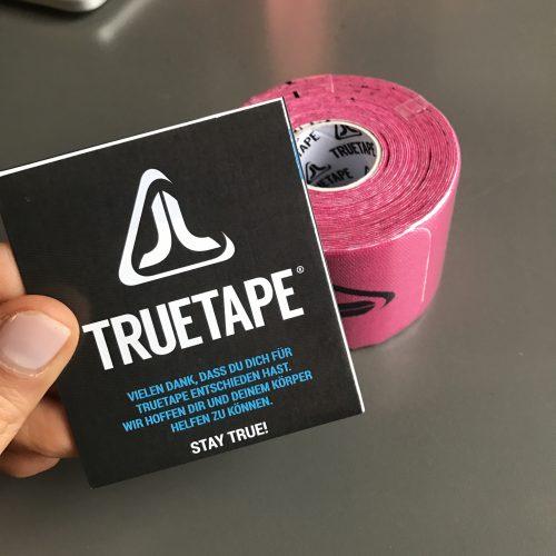 Kinesio Tapes von True Tape sind bereits vorgeschnitten
