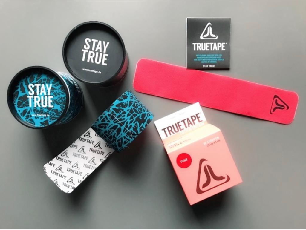 Kinesio Tape Anleitung Knie mit den Tapes von True Tape