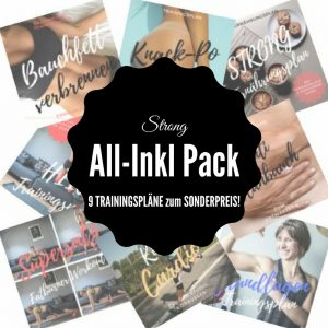 STRONG All-Inkl Pack - 9 Trainingspläne zum Sonderpreis