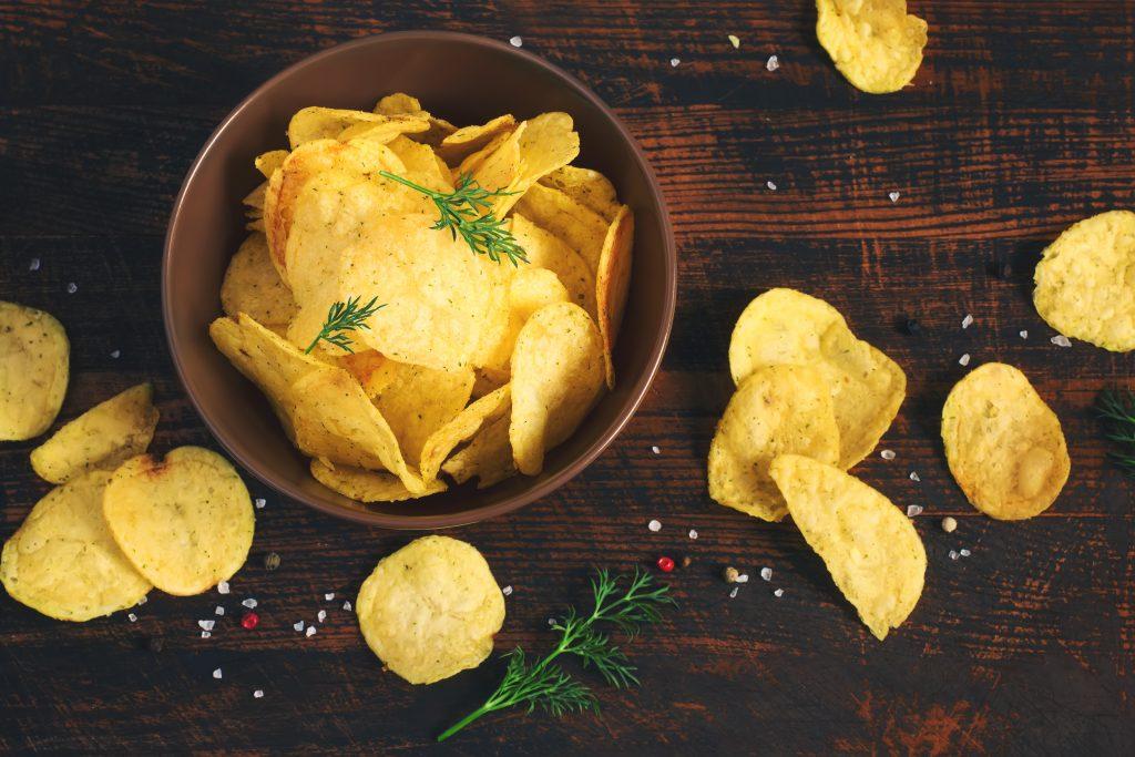 Heißhunger auf Chips stoppen