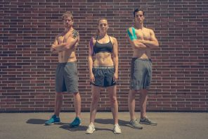 Kinesio Tape Anleitung für Knie, Schulter und Nacken
