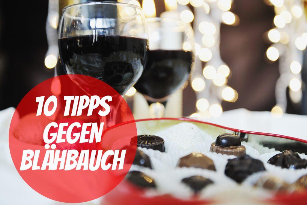 Völlegefühl nach dem Essen - 10 Tipps gegen Blähbauch an Weihnachten