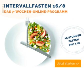 Intervallfasten - Der Ernährungsplan für die 16/8 Methode
