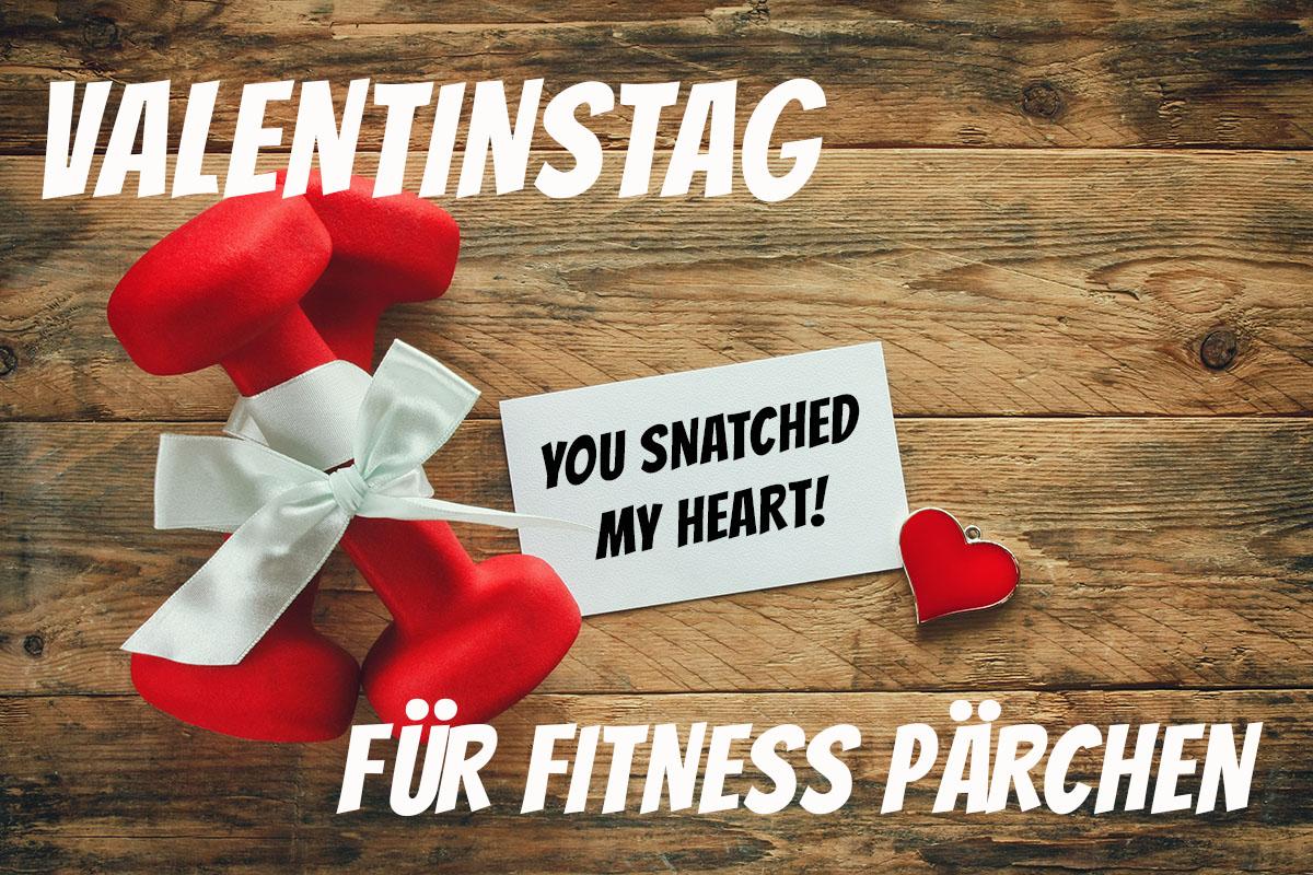 Valentinstag für Fitness Pärchen - Geschenkideen und Tipps