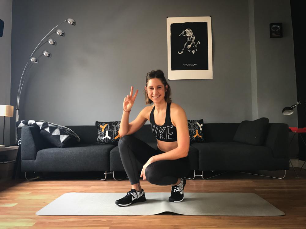 Geschafft! :-) bauchmuskeltraining für Zuhause - Plank Variationen ohne Geräte für das Training mit dem eigenen Körpergewicht