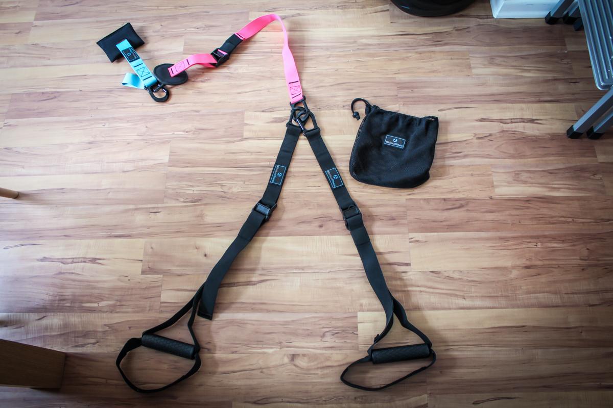 Sling Trainer Befestigung ohne Bohren mit Türanker - Anleitung