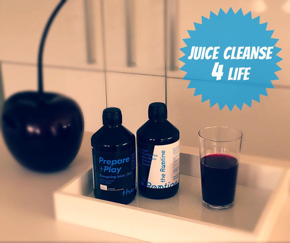Juice Teas von the Rootine natürliche Trainingsbooster