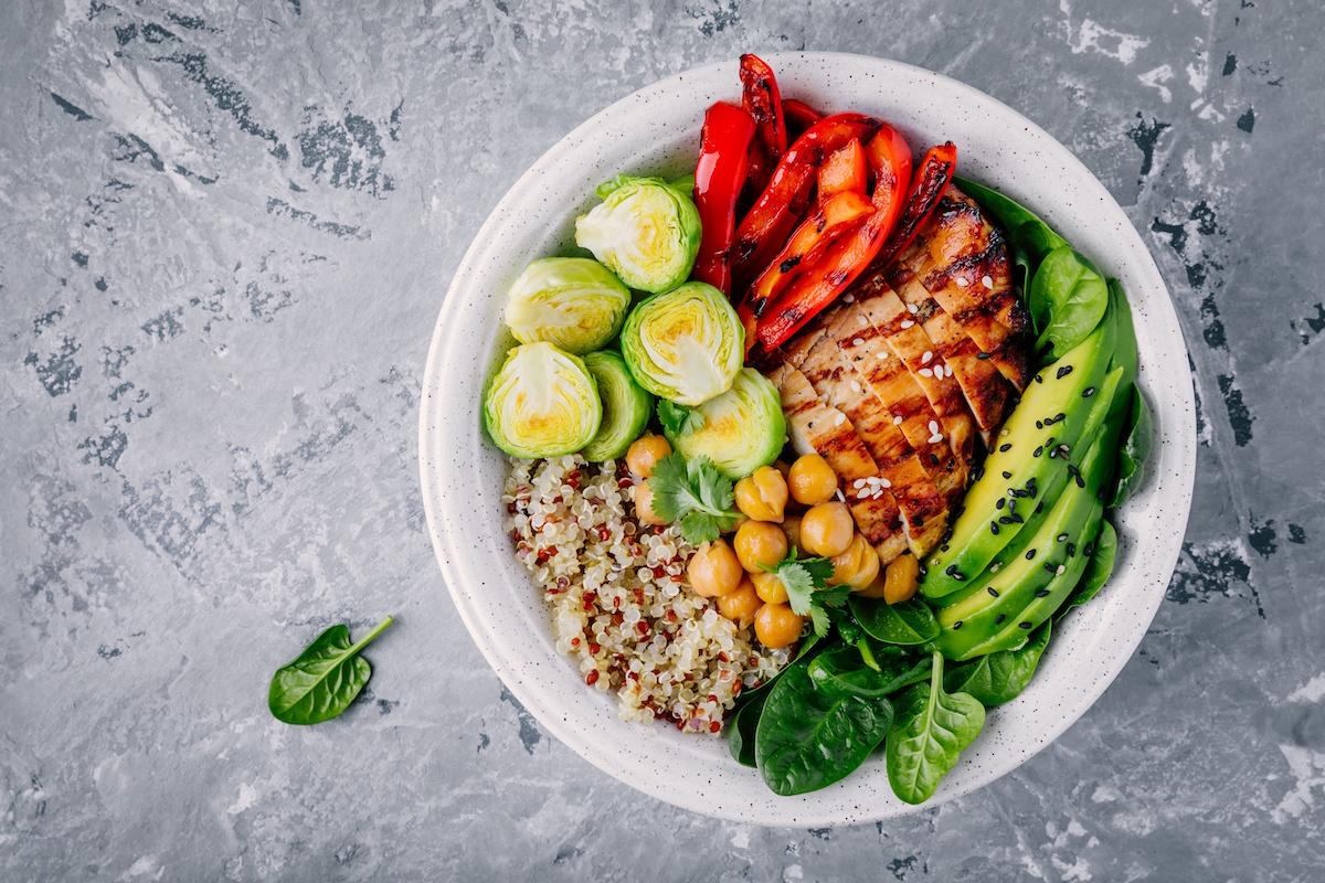 Ideen für ein gesundes Mittagessen um das Nachmittagstief zu vermeiden