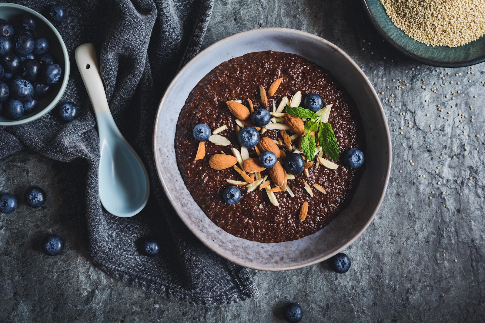Rezept Schokoladen Porride Low Carb
