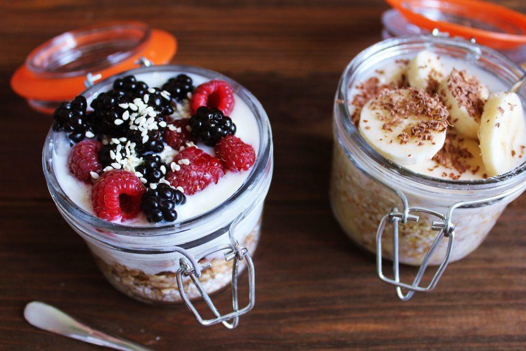 Joghurt Meal Prep Parfait