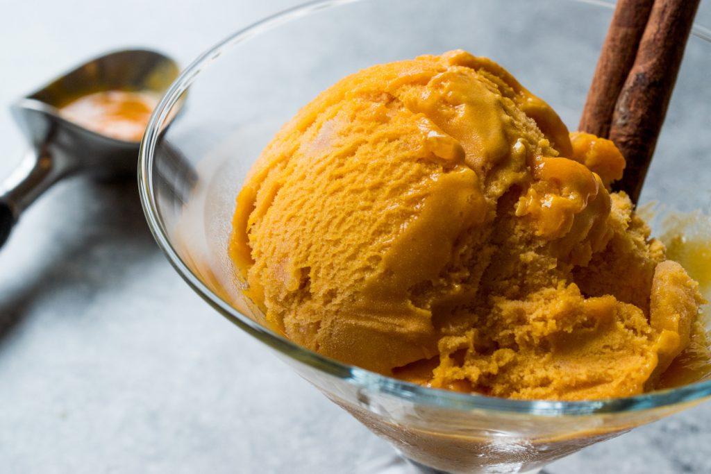 Kürbis Protein Eis