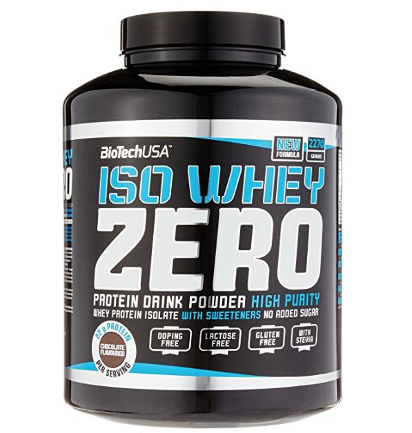 ISO WHEY ZERO Protein Drink Powder Schoko von BioTechUSA