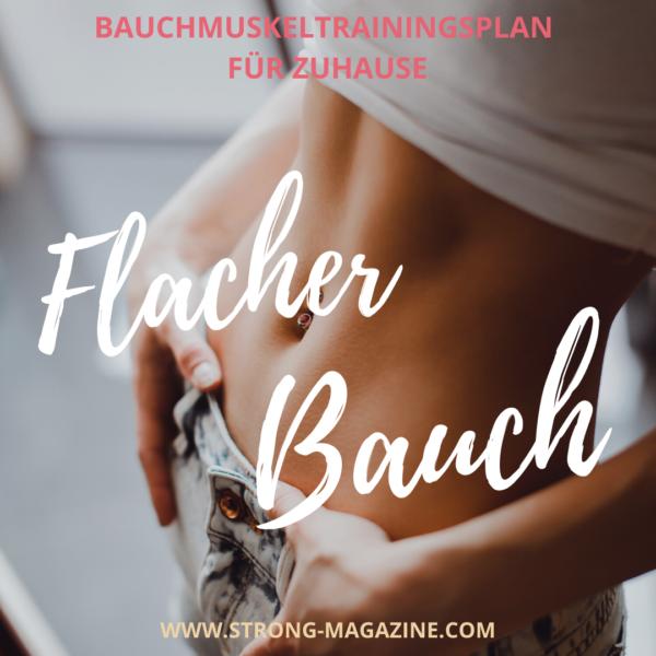 Bauchmuskeltrainingsplan für Zuhause für Frauen