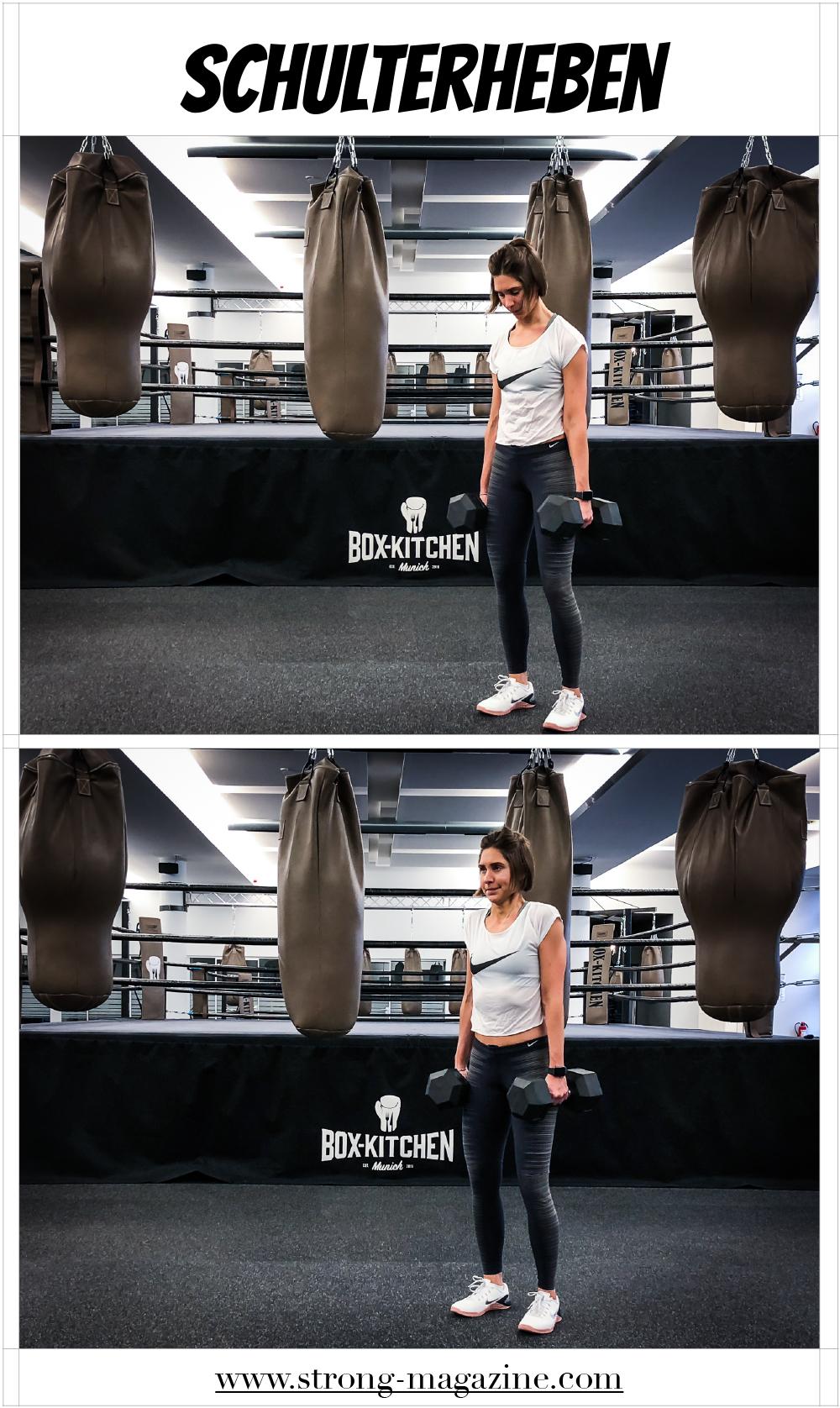 Übung für den Rücken: Schulterheben Anleitung