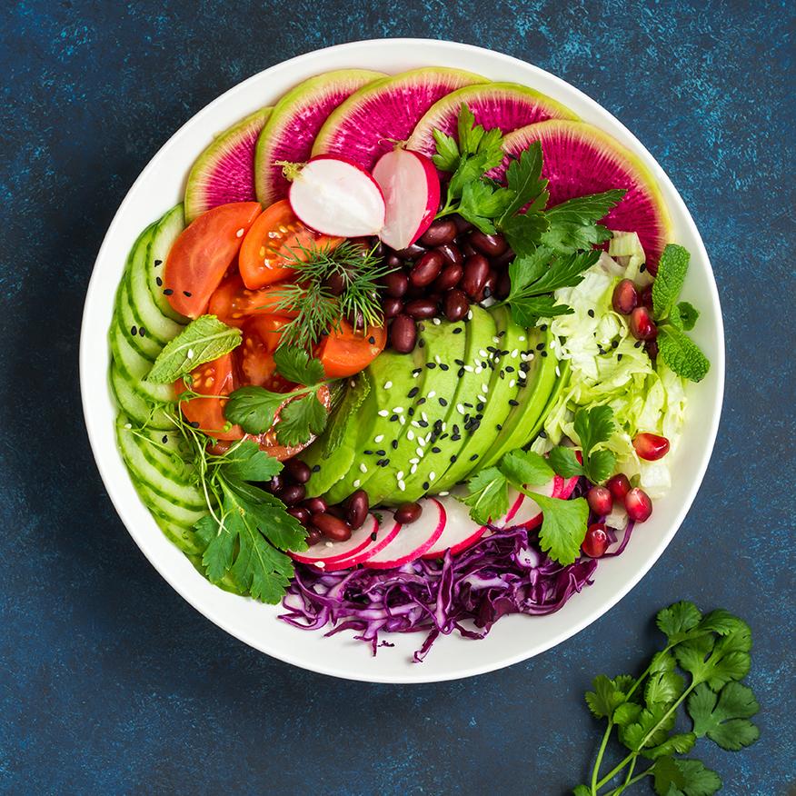 Vegane ketogene Ernährung Rezepte für Frühstück, Mittag und Abendessen