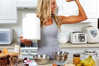 Eiweißpulver backen - 9 Rezepte für Backen mit Proteinpulver