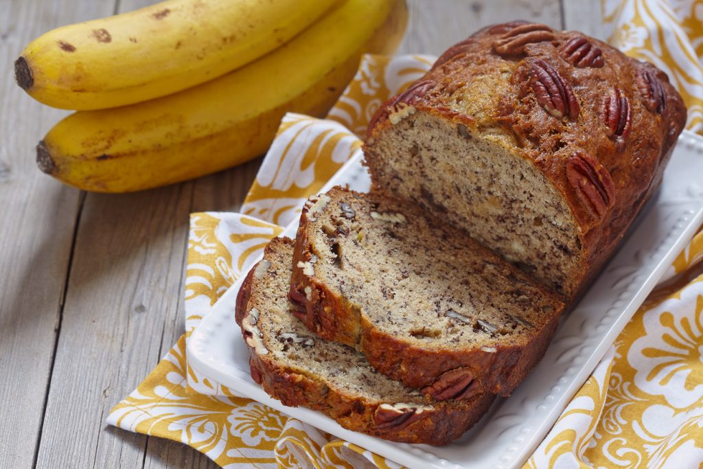 Low Carb Brot: Banana Bread mit Eiweisspulver