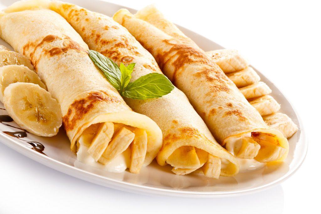 Bananen Protein Crepes Rezept
