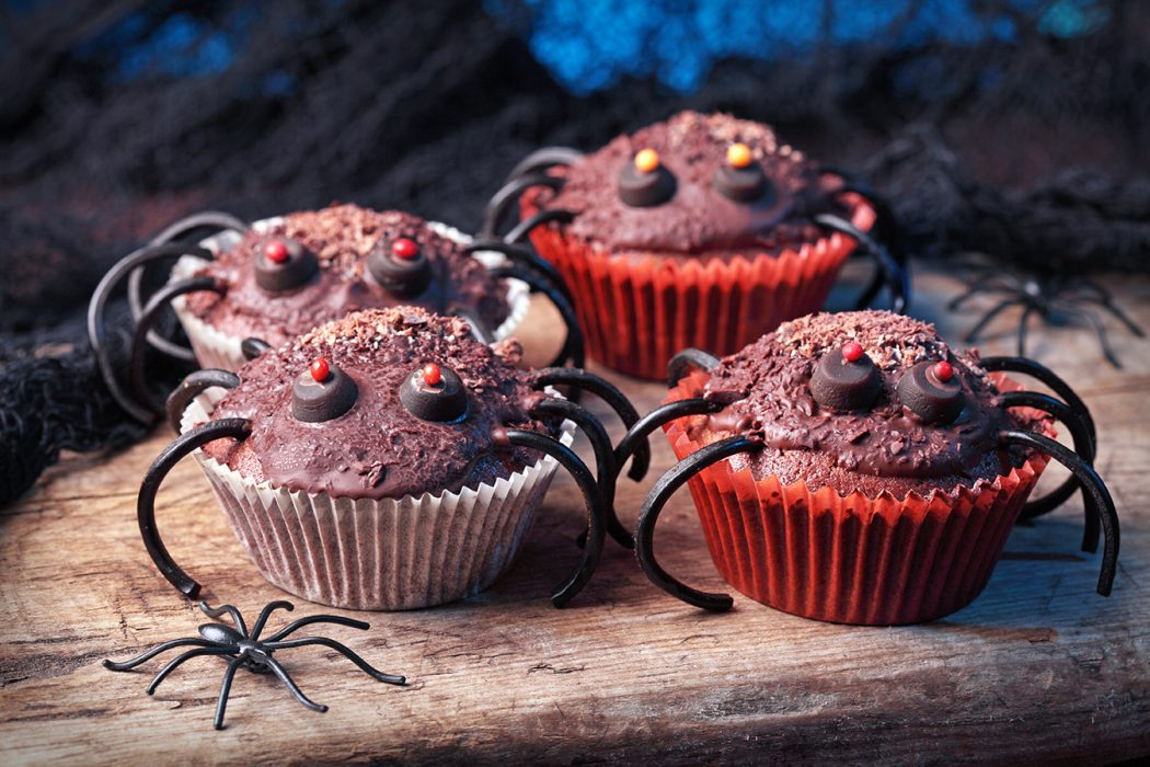 Halloween cupcakes for Halloween party - Low Carb Rezepte