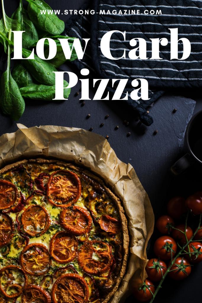 Low Carb Pizza Rezepte - die besten Rezepte für Pizzaböden ohne Kohlenhydrate