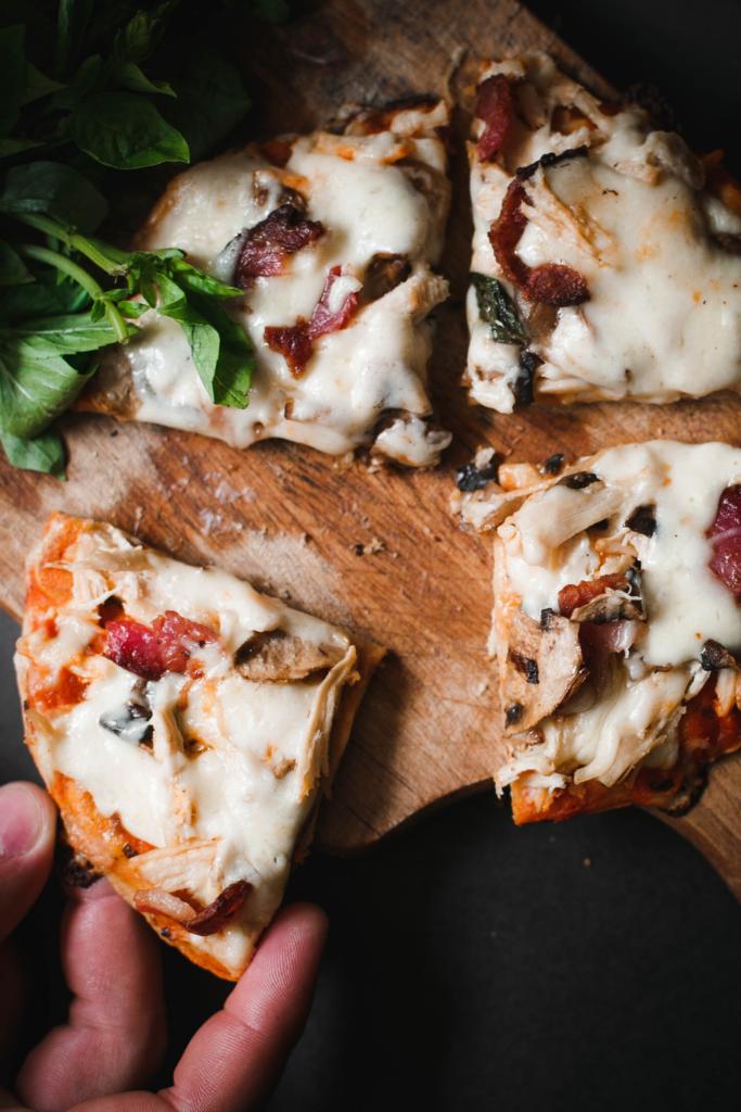 Low Carb Pizza - Kürbis Pizza ohne Kohlenhydrate