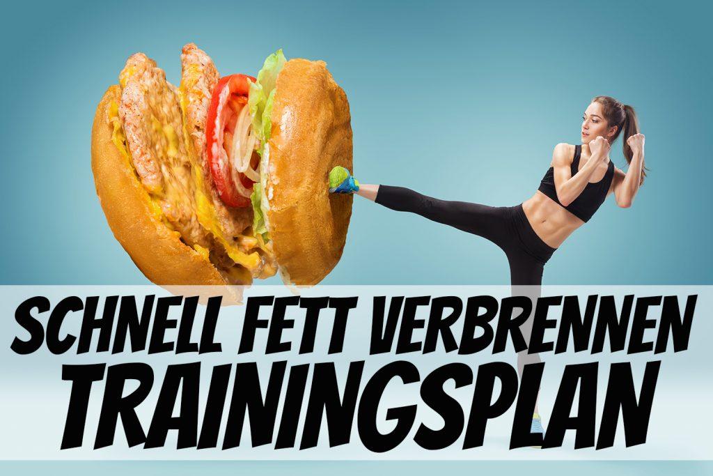Schnell Fett verbrennen - Trainingsplan