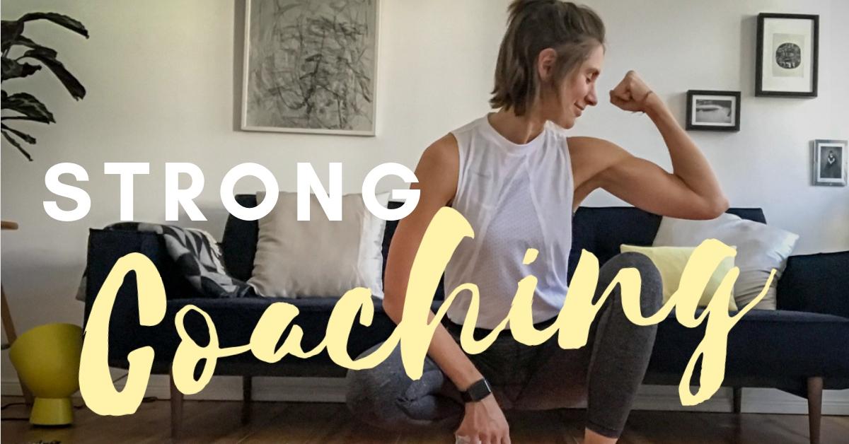 STRONG COACHING - das 1:1 Fitnesscoaching für Frauen mit wenig Zeit