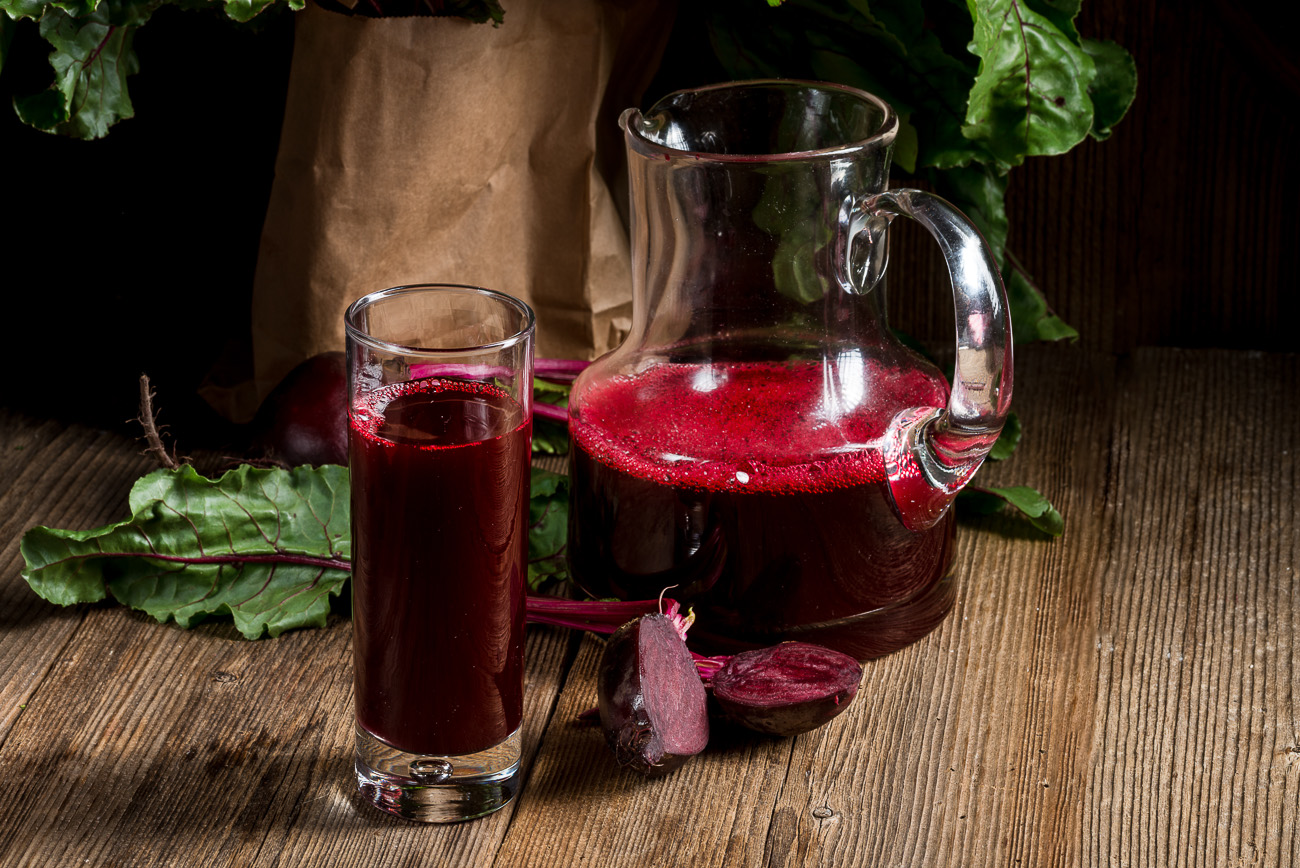 Rote Beete Detox Drink für eine Detox Kur Zuhause