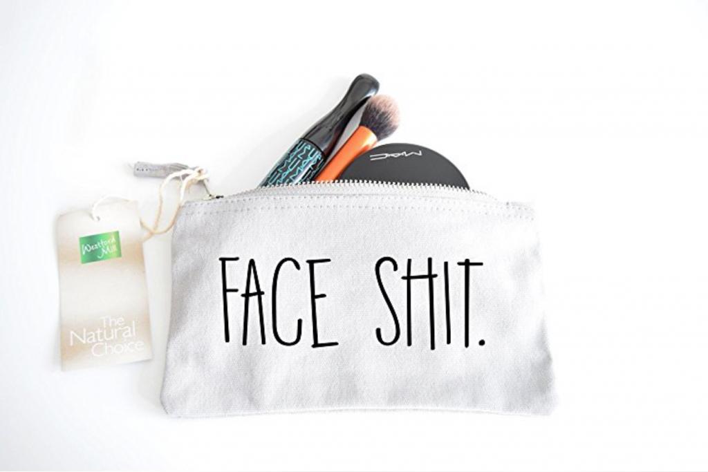 Süße Kosmetiktasche mit originellem Spruch der Ihren Alltag versüßt!
